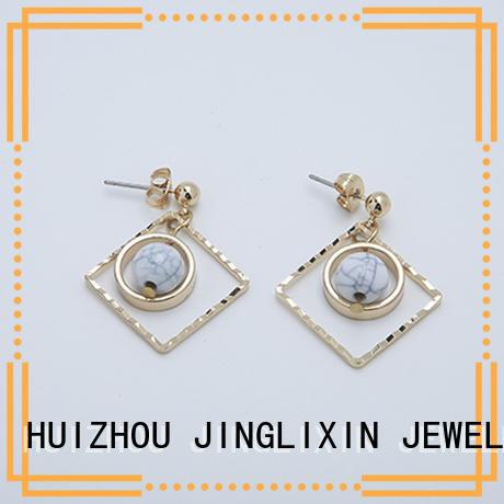 custom earrings chandelier for ladies JINGLIXIN