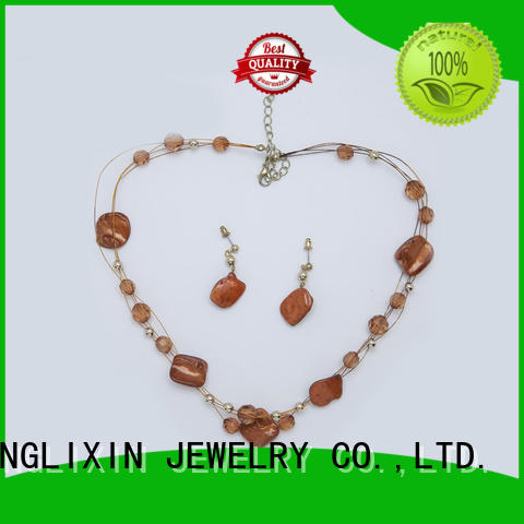 JINGLIXIN High-quality fine jewelry sets manufacturers for present