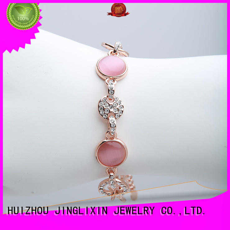 alloy personalised bracelets for her manufacturer for party JINGLIXIN