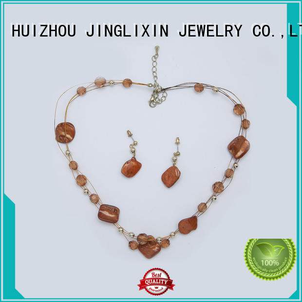hardware gold wholesale jewelry sets diamond JINGLIXIN