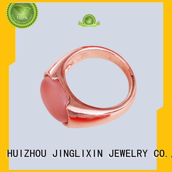 JINGLIXIN semiprecious custom made rings manufacturer for male