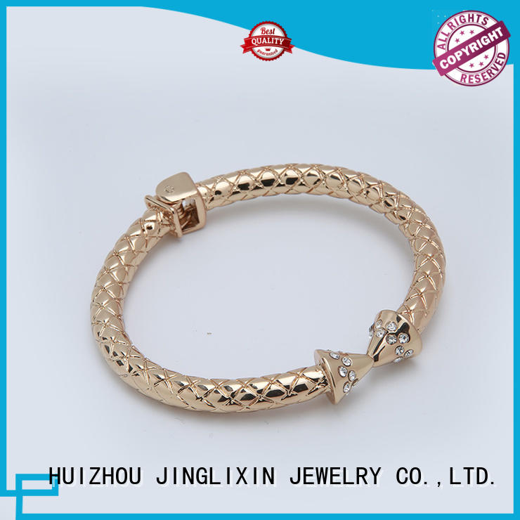 custom bracelet rose alloy wholesale bracelets JINGLIXIN Brand