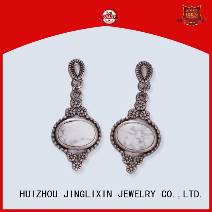 alloy custom earrings supplier for women