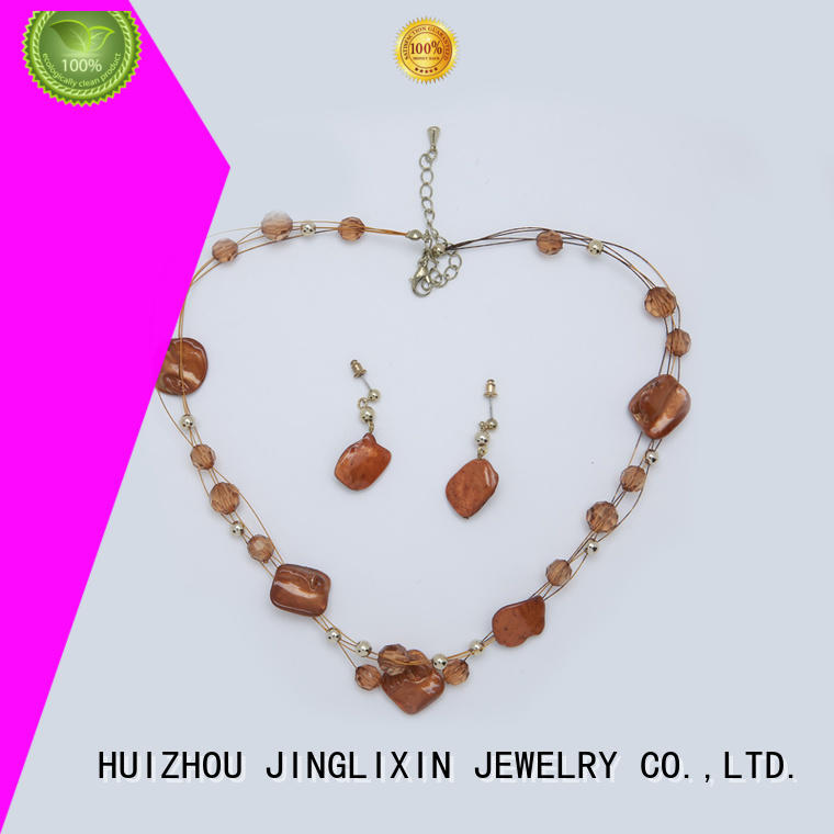 JINGLIXIN Wholesale pearl jewelry sets for business for party