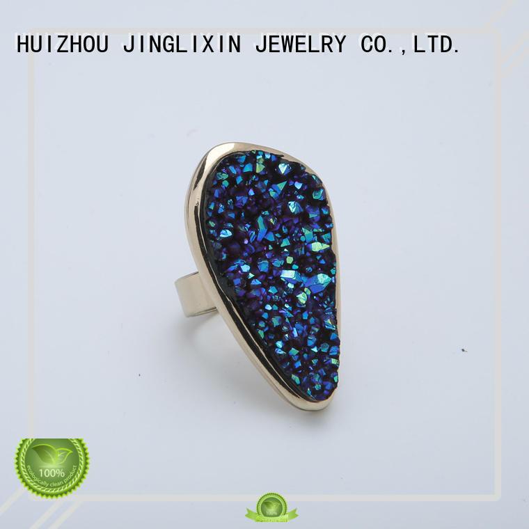 JINGLIXIN stone custom rings for women odm service for women