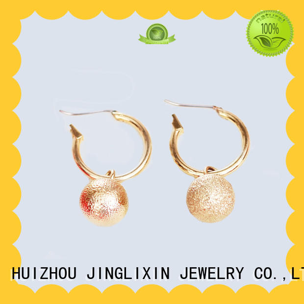 hot sale wholesale fashion earrings laser engraving for ladies
