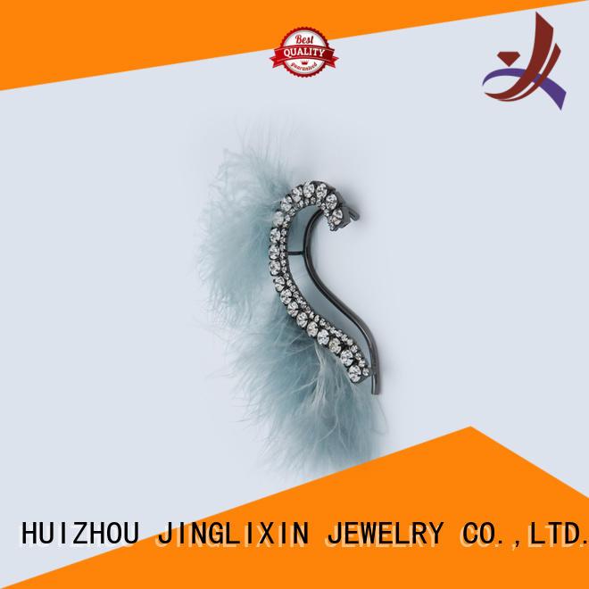JINGLIXIN Brand fashion diamond earring wholesale fashion earrings manufacture