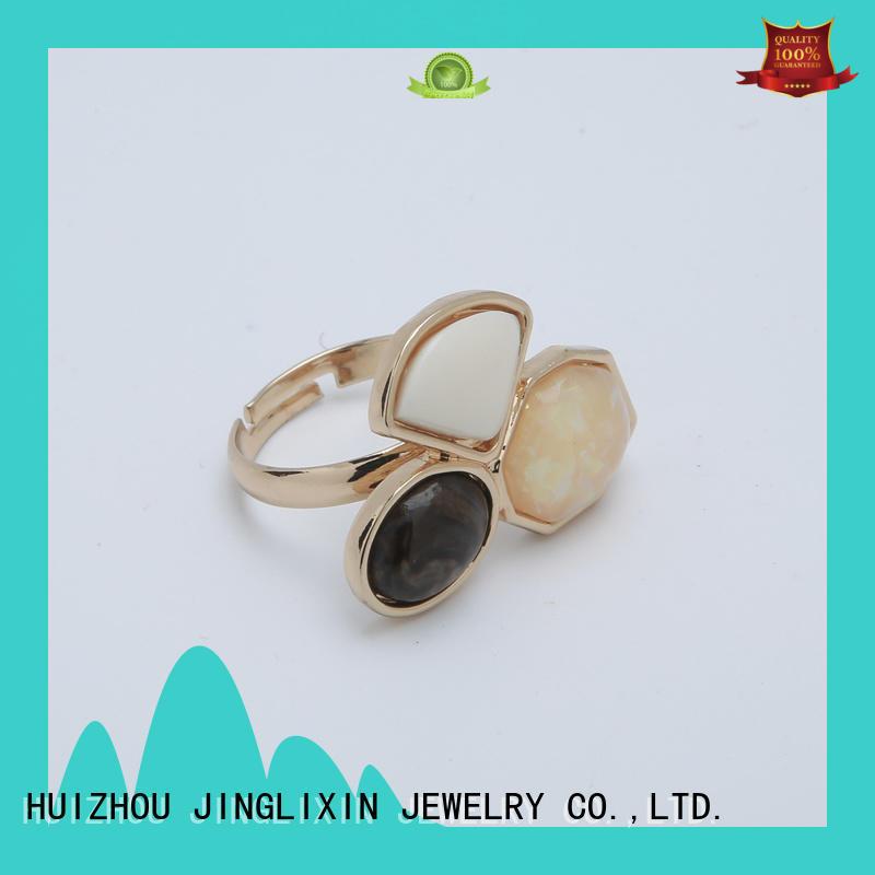 JINGLIXIN unique diamond rings odm service for women