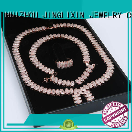 fine jewelry sets laser engraving for present JINGLIXIN