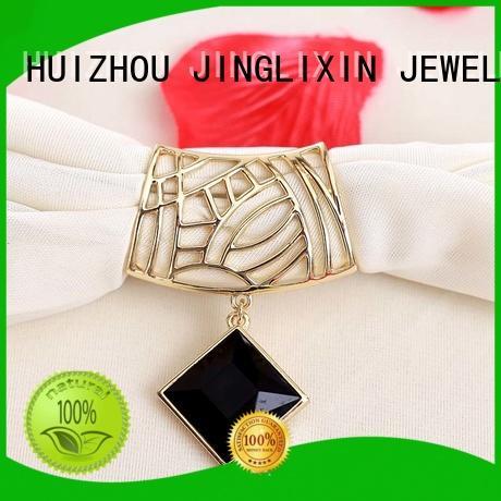 JINGLIXIN white women's jewelry accessories rhinestones for women