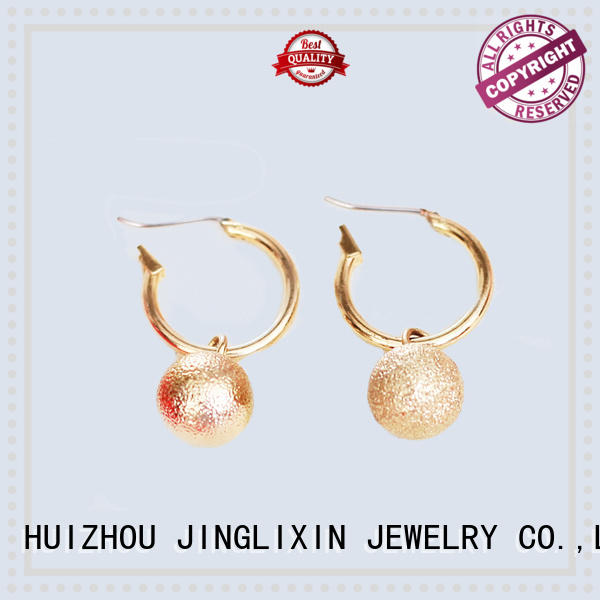 JINGLIXIN plated wholesale fashion earrings professional for sale