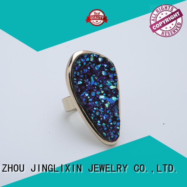 r custom rings for women laser engraving for women JINGLIXIN