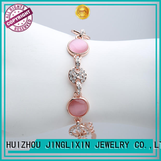 Wholesale customize bracelets environmental protection for ladies