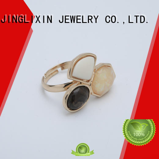 round custom ring odm service for present JINGLIXIN