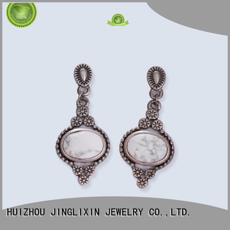 Quality JINGLIXIN Brand abs wholesale fashion earrings