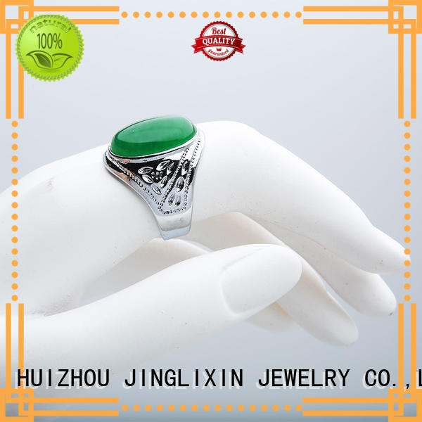 Hot wholesale fashion rings zinc JINGLIXIN Brand