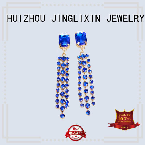 gold personalized earrings supplier for sale
