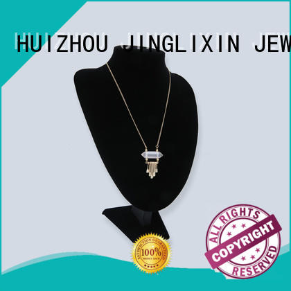 JINGLIXIN customized jewelry necklaces abs beads for party