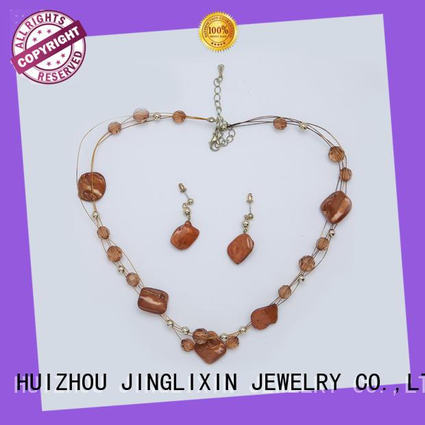 fashion jewelry sets hardware for present JINGLIXIN
