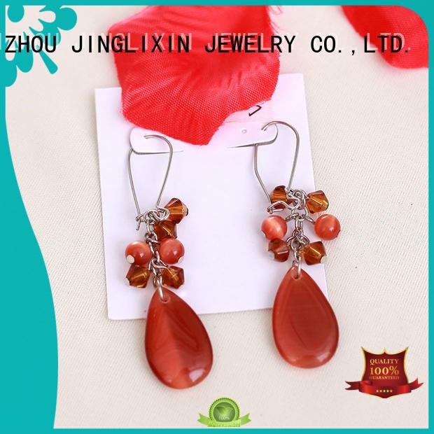 accessorize pearl earrings for ladies JINGLIXIN