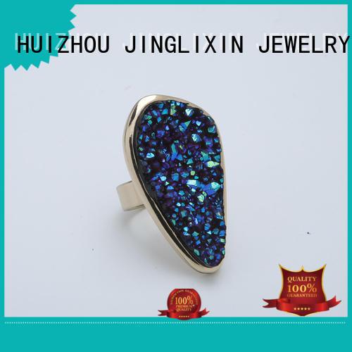 white gold wholesale fashion rings sale JINGLIXIN Brand