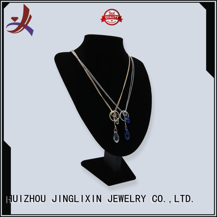 crystal Custom diamond wholesale necklaces semiprecious JINGLIXIN