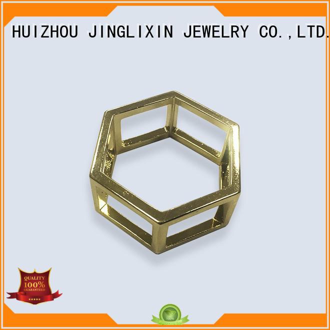 JINGLIXIN czech rhinestone wholesale brooches in bulk steel plated cufflinks for women