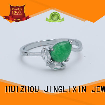 high quality fashion jewelry rings oem service for present