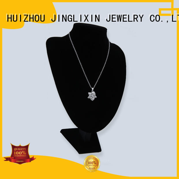 Wholesale plated rhinestones necklace white JINGLIXIN Brand