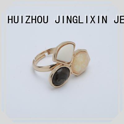 JINGLIXIN hot sale fashion rings odm service for male