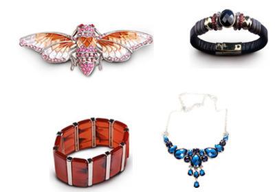 Silver Jewelry Wholesale, Zinc Alloy jeweley factory, steel jewelry vendors