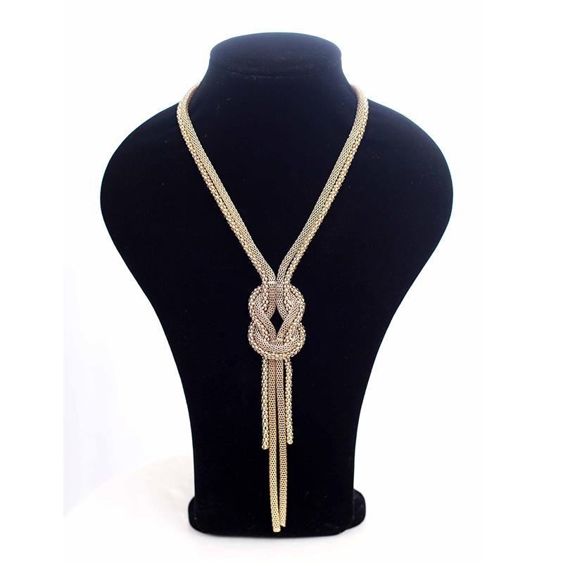 Light Luxury Knot Necklace