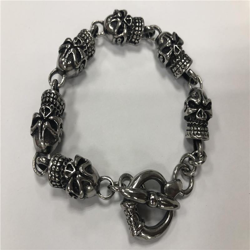 Domine skull bracelet