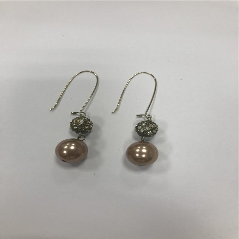 ABS beads Pendant earrings