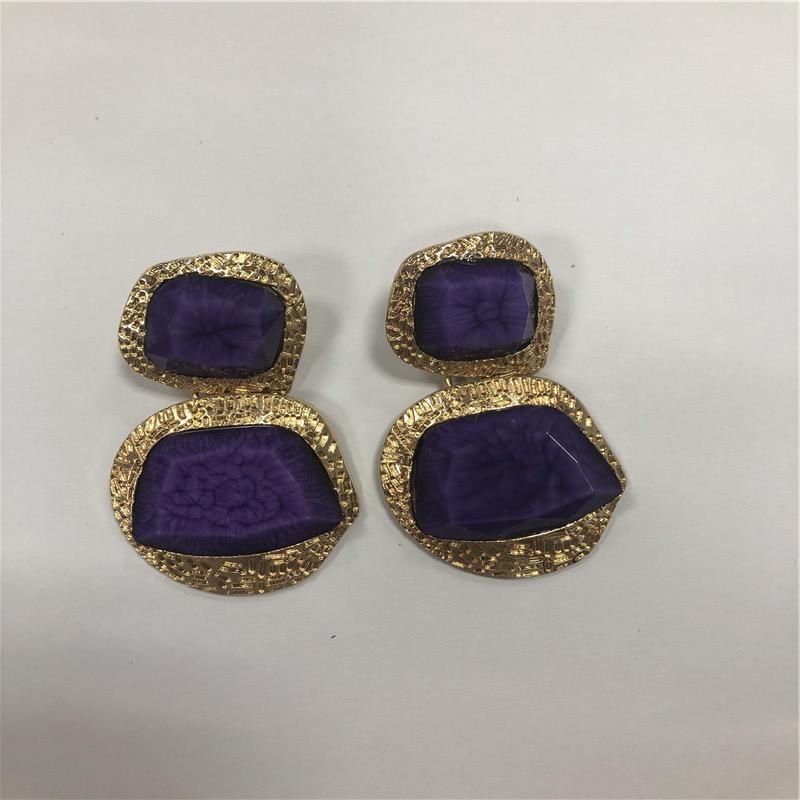 big Resin earrings