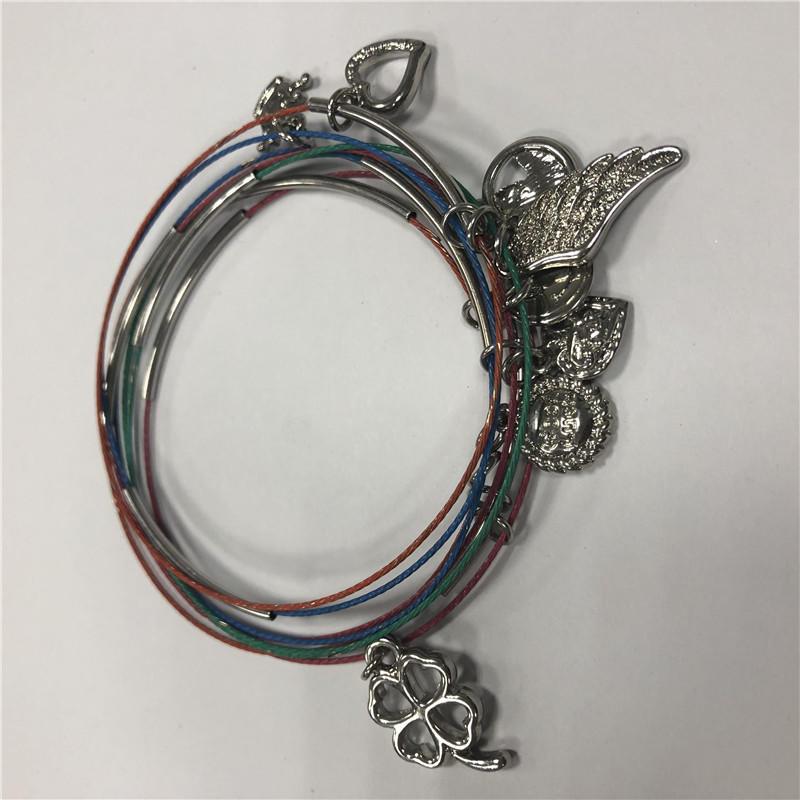 Polycyclic DIY  bracelet