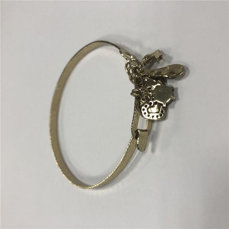 DIY single loop bracelet