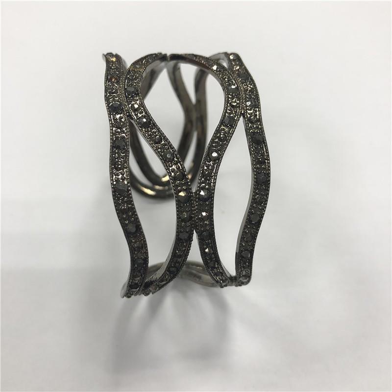 Diamond Open Bracelet European and American Simple Fashion