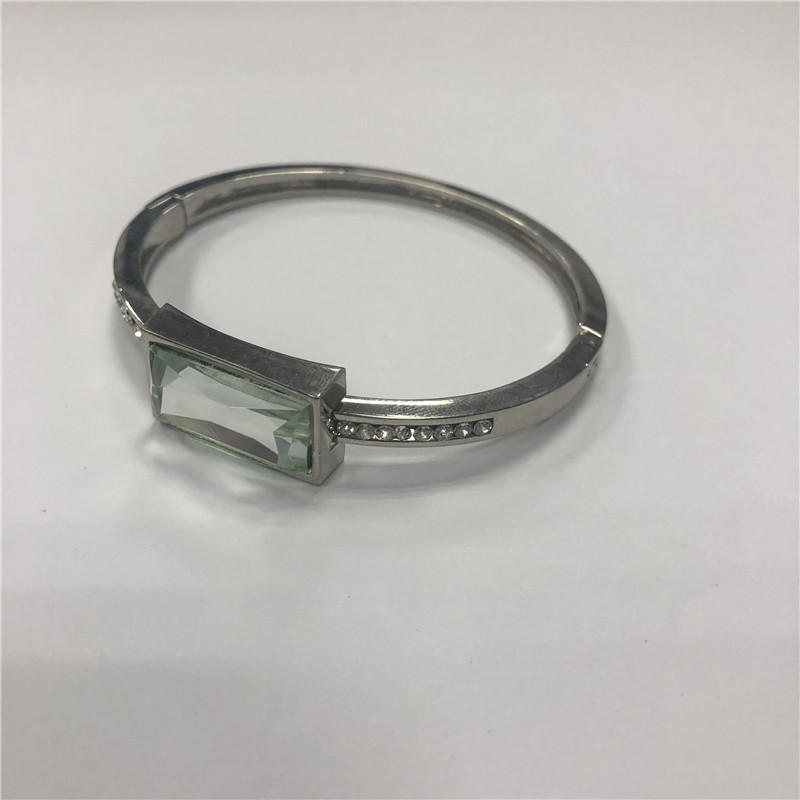 Stainless steel open bracelet