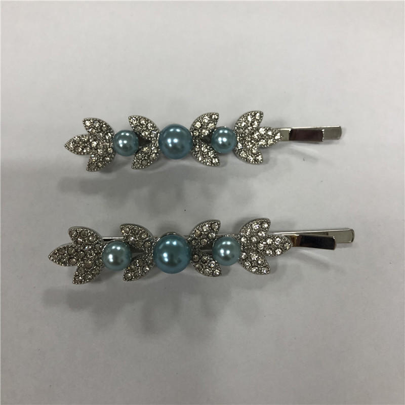 Small fresh flower water drill hairpin