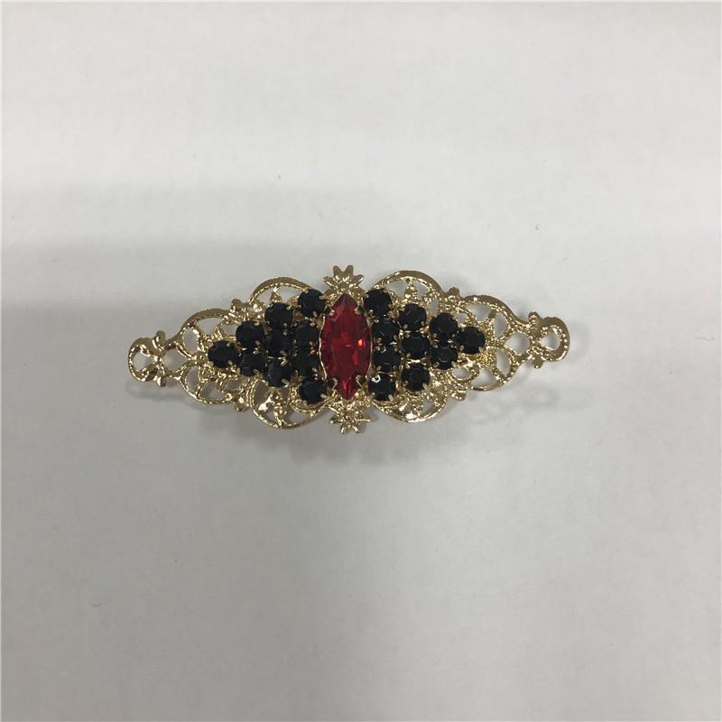 Sweet temperament crystal hairpin