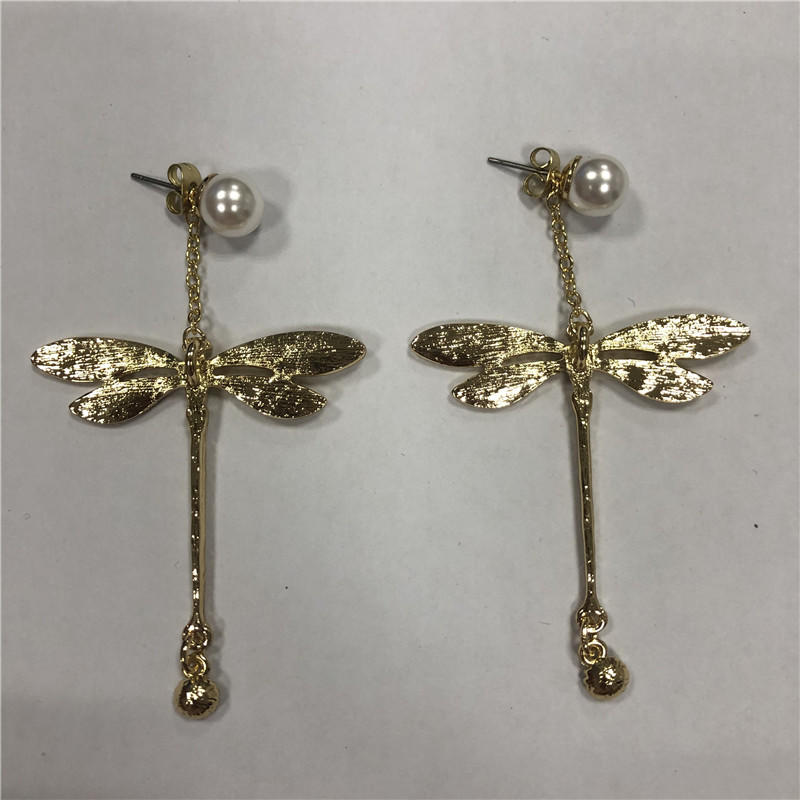 Foreign trade resin long earrings
