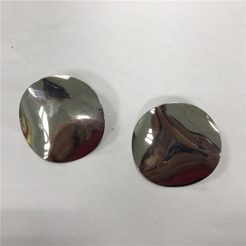 Geometric acrylic large earrings