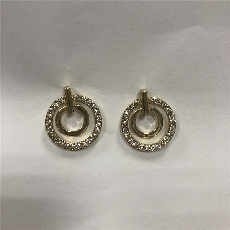 Foreign trade hot-selling Europe and the United States restore ancient ways multi-layer personality ring big earrings earrings