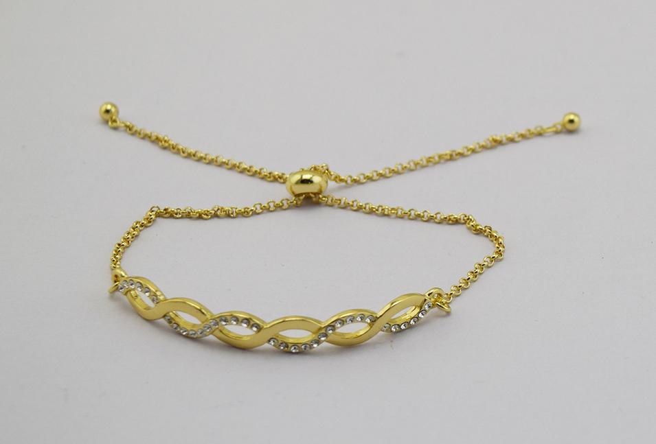 Zinc alloy bracelet