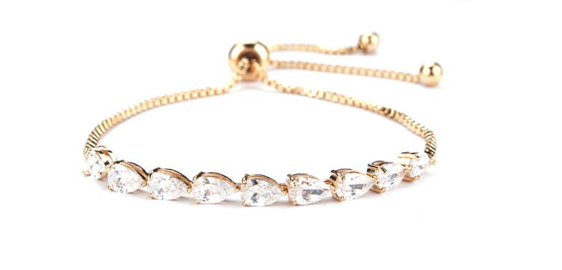Zircon bracelets