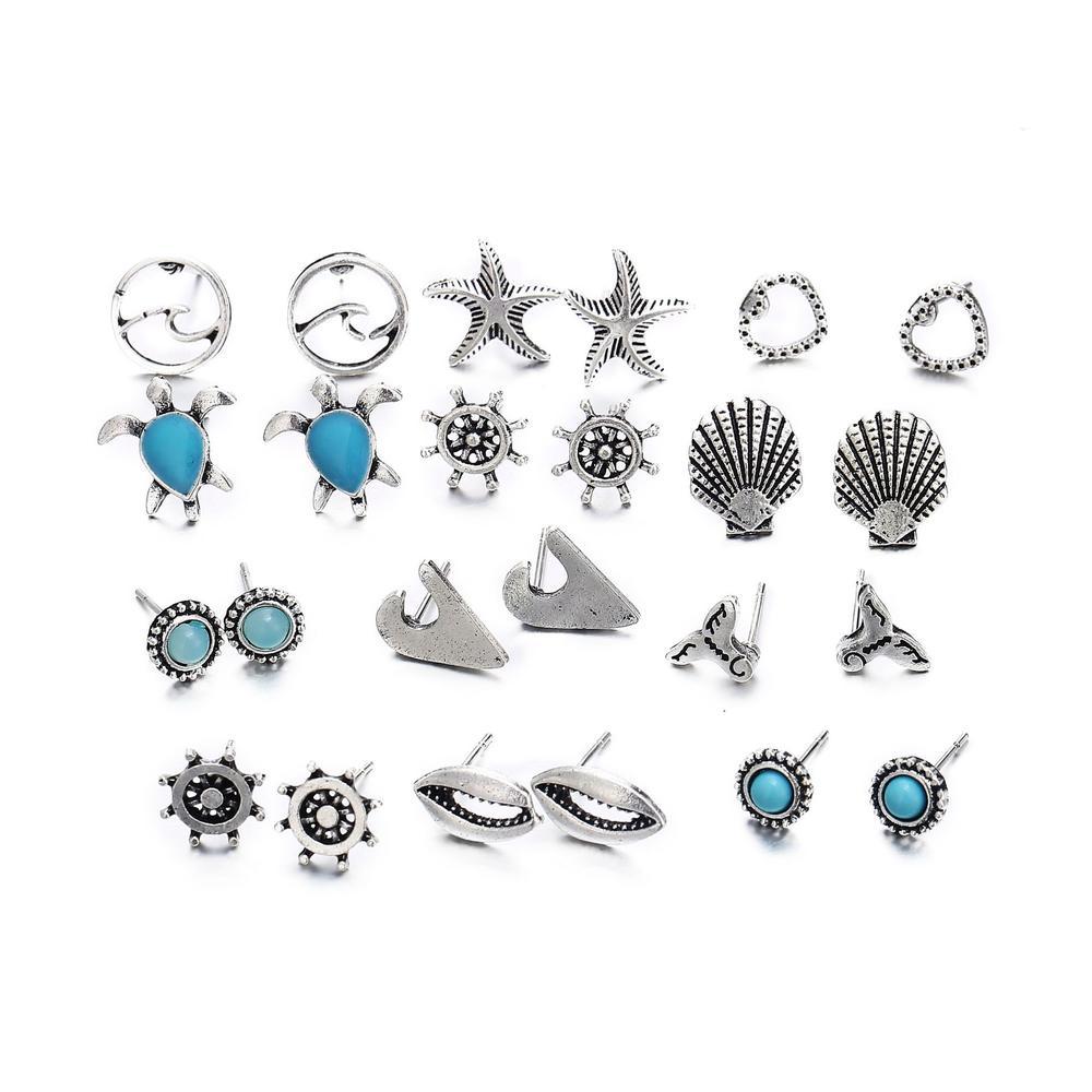 Exquisite Marine Life Earrings