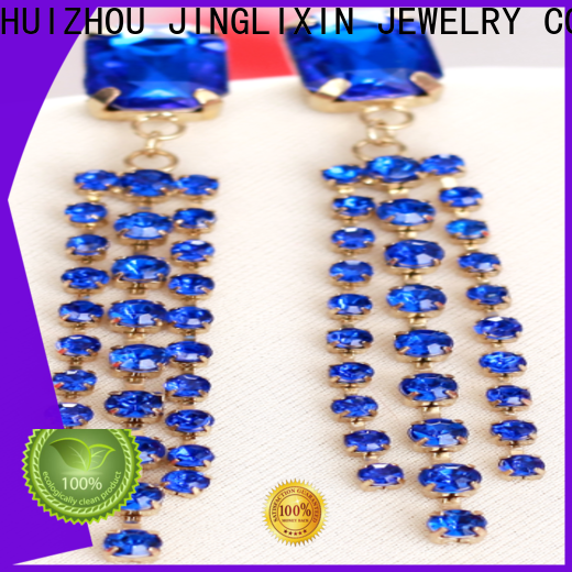 JINGLIXIN new trendy earrings manufacturers for present