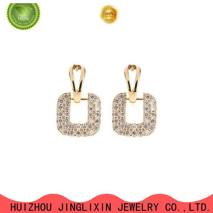 JINGLIXIN Latest wholesale fashion earrings manufacturers for women