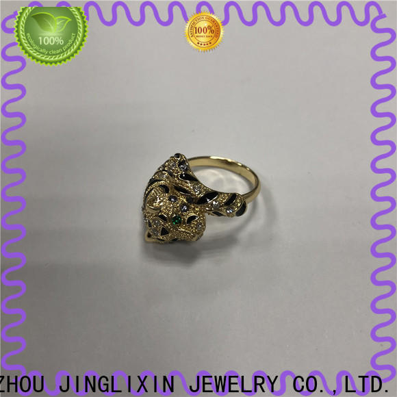 JINGLIXIN Latest ring desings environmental protection for male